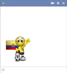 Ecuador football smiley