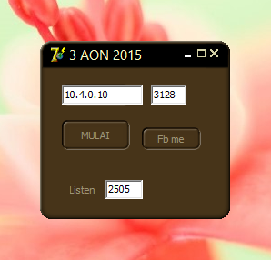 Inject Tri AON Terbaru 3 - 4 - 5 - 6 dan 7 Januari 2015