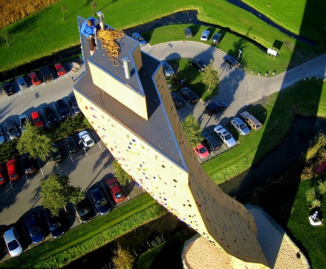 The Highest Climbing Wall in the World