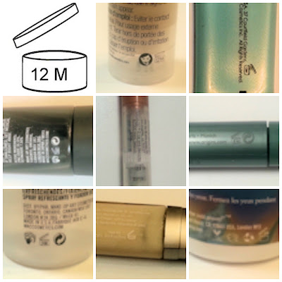 Expiration Dates printed on various products