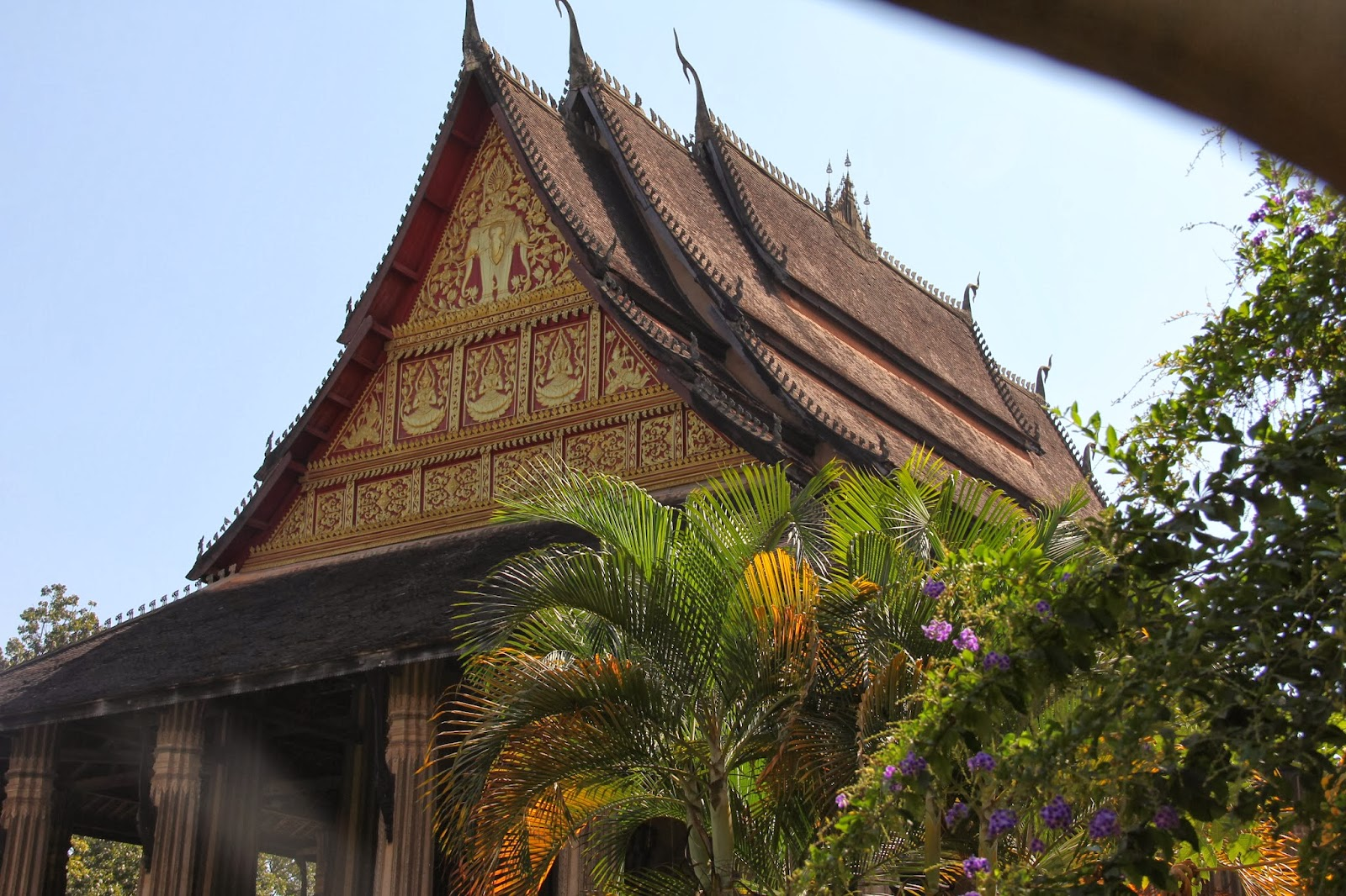 Haw Phra Kaew,built to house the Emerald Buddha.