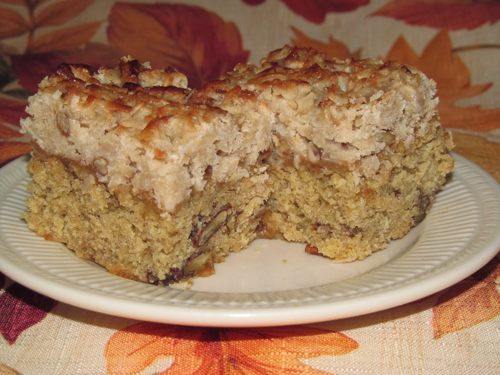 Home Joys: Flo's Cakes - Walnut Orange Coffee Cake