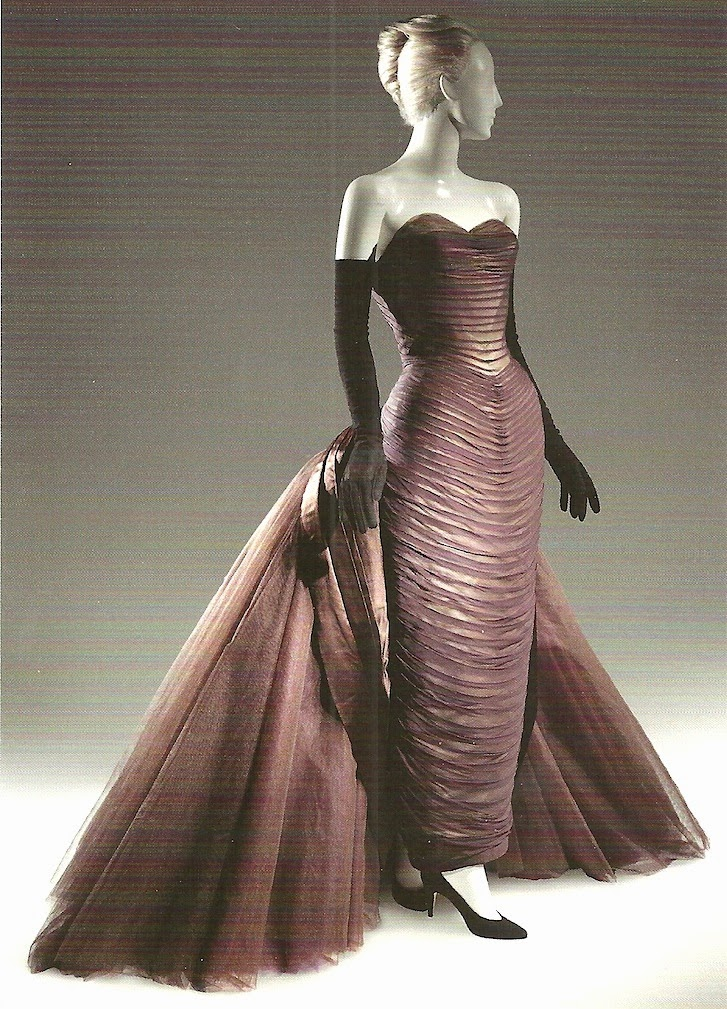 The Paper Collector: Butterfly Ball Gown by Charles James, c.1955