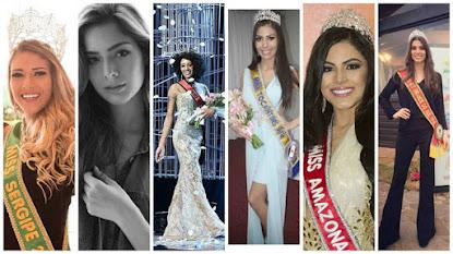 Conheça as candidatas que estão na disputa pelo Miss Brasil 2016