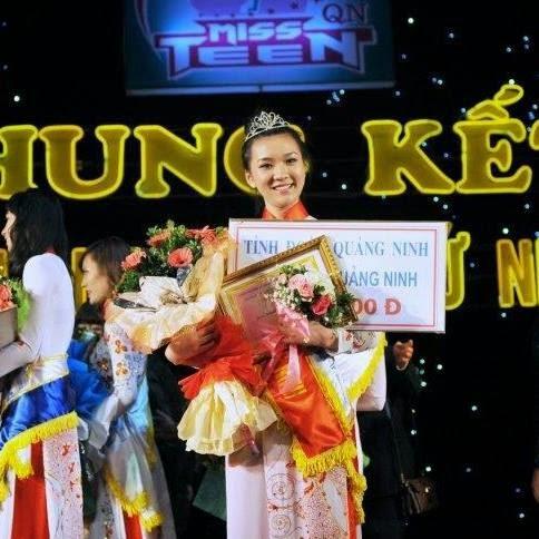 Miss teen 2012 có khuong mặt dễ thương