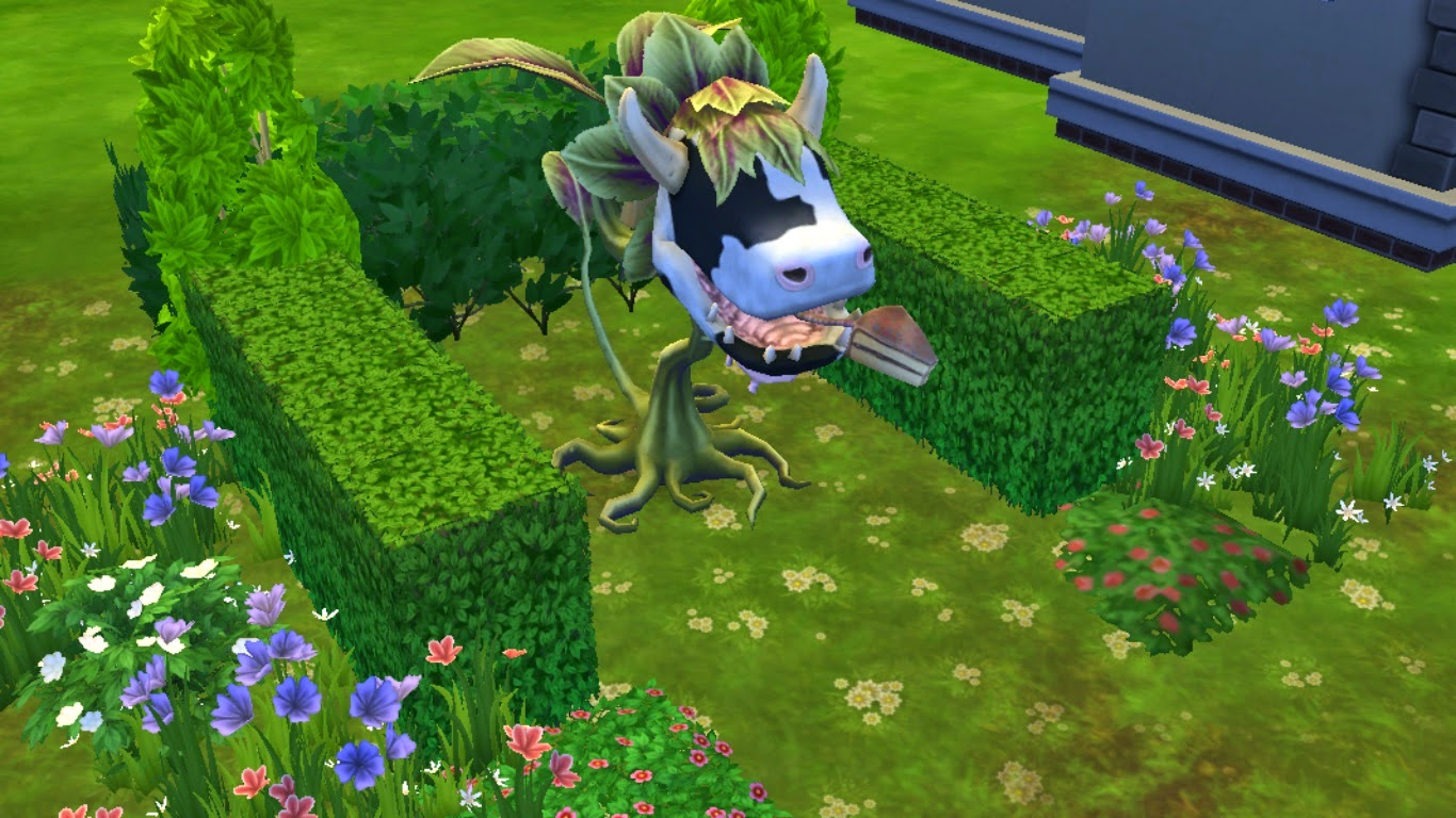 Sims Never Autonomously Eat The Cowplant Cake Sims