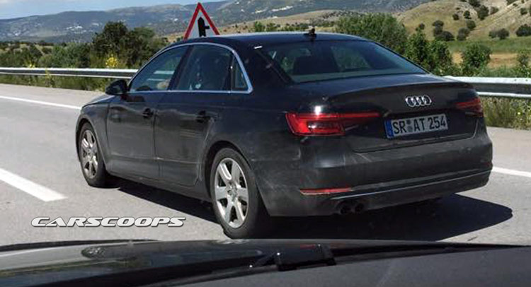 U Scoop New 2016 Audi A4 B9 On The Road