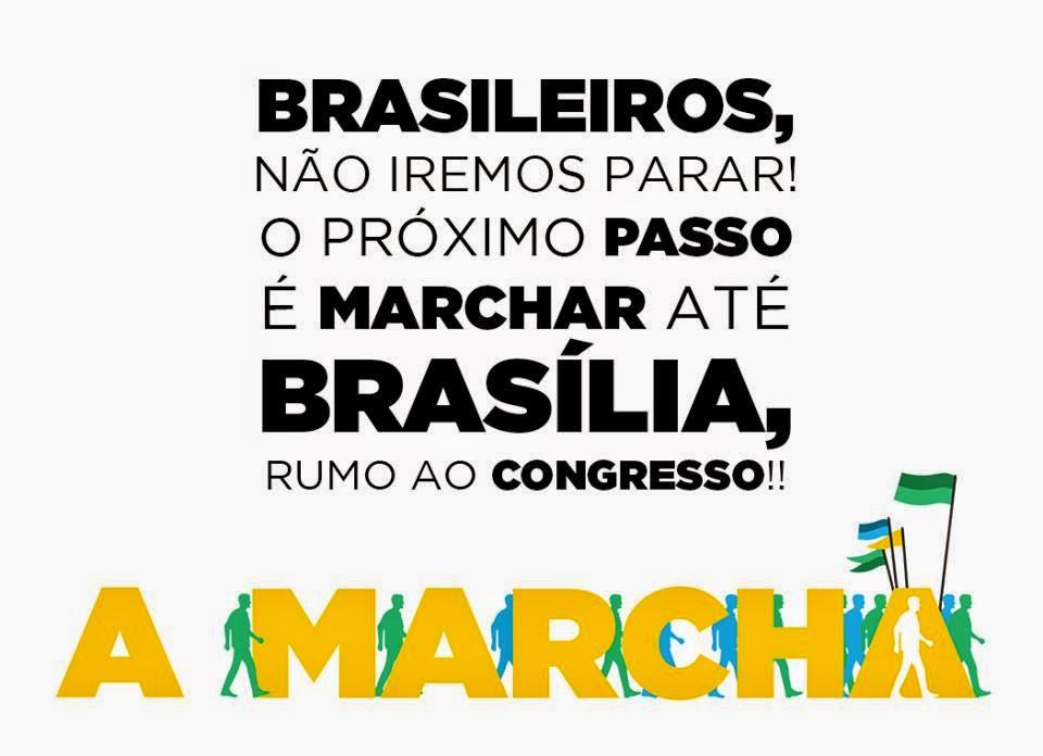 Rumo a Brasília!