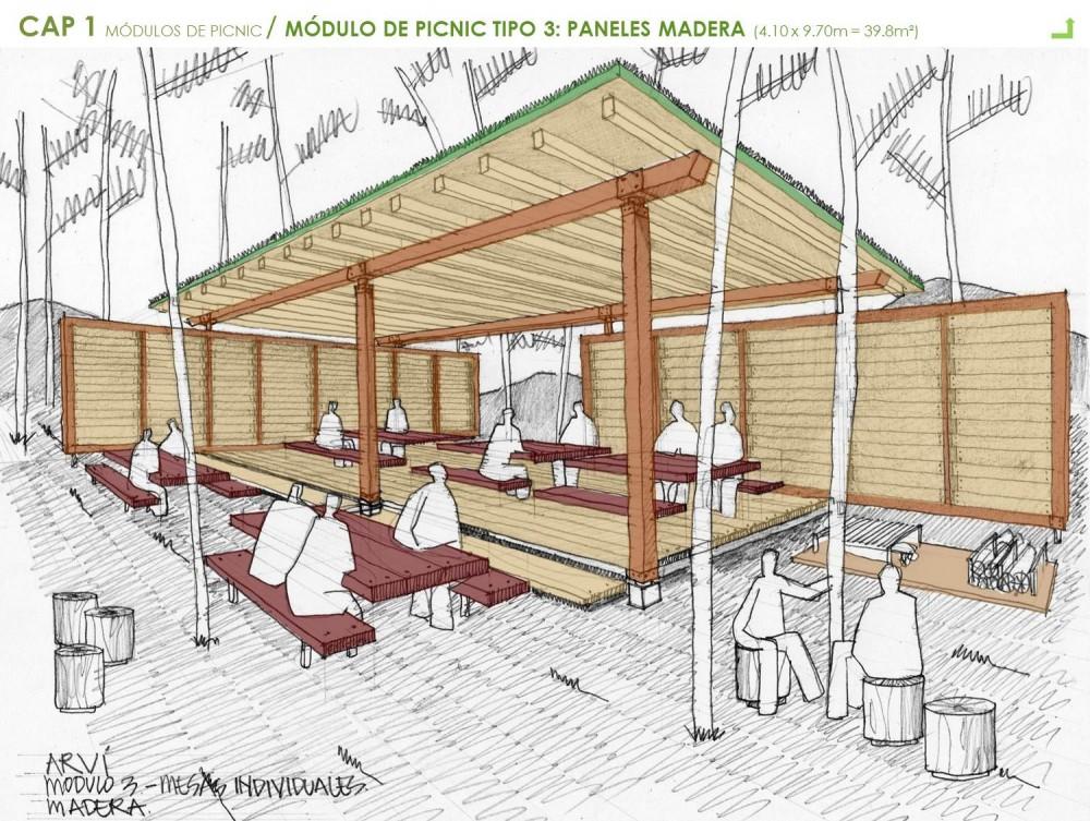 Tecnolog a y sistemas constructivos mobiliario urbano for Construccion de modulos comerciales