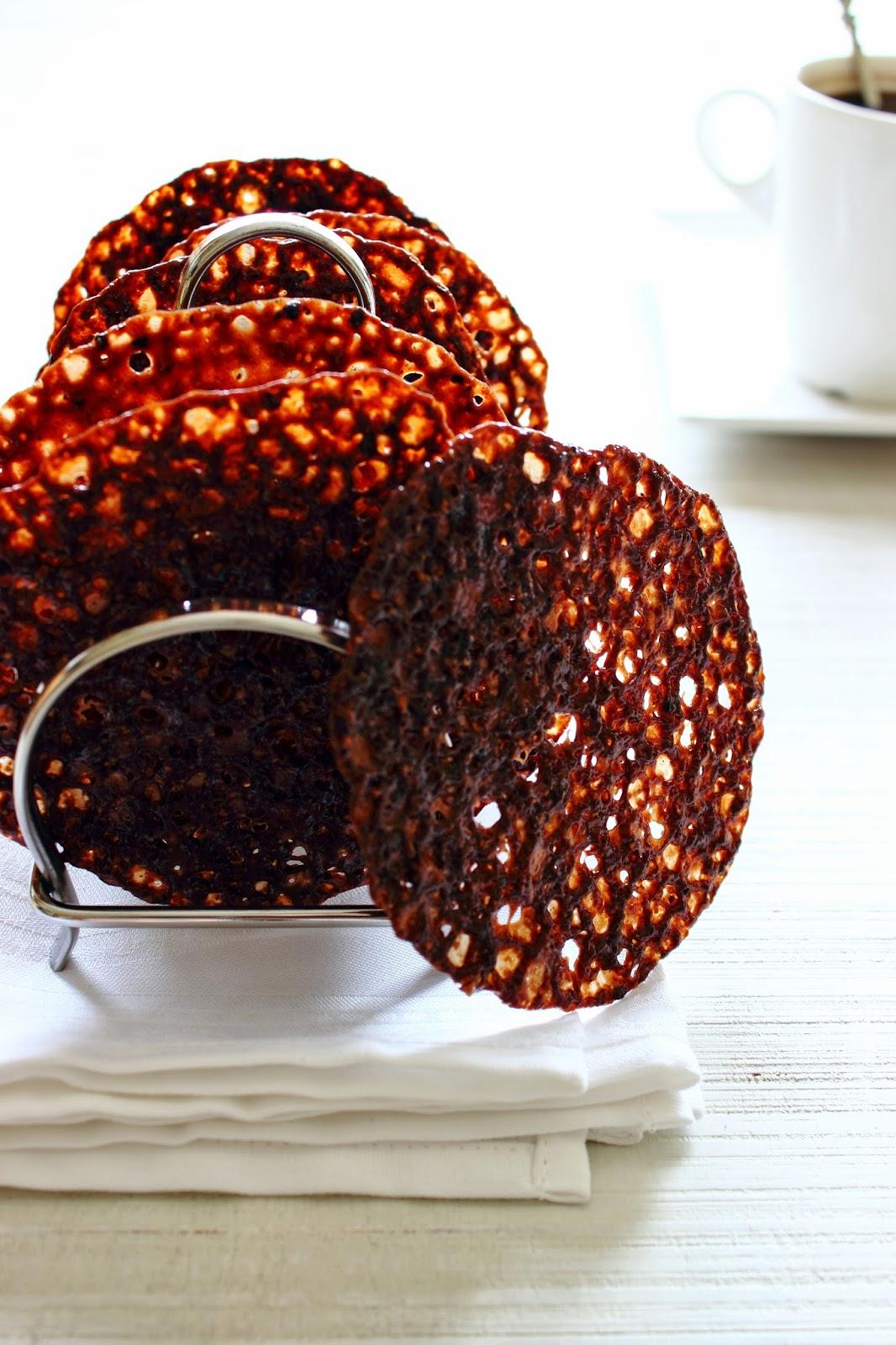 Krokante koffie-hazelnoot koekjes