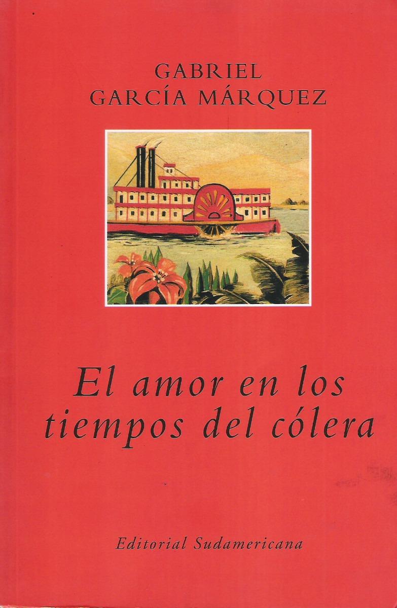 El Amor En Los Tiempos Del Colera Book Cover