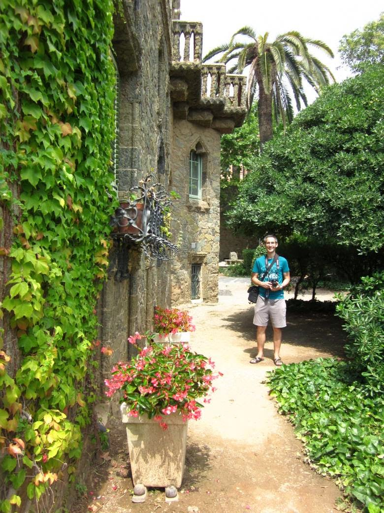 Gardens of Torre Bellesguard