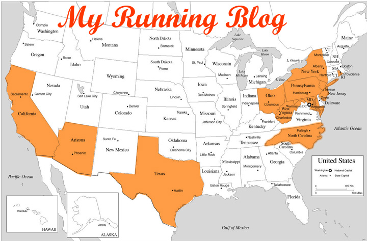 MY RUNNING BLOG