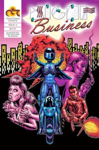 NIGHT BUSINESS, ISSUE 3 | ON SALE NOW!