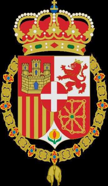 Armas del rey Amadeo I de Saboya