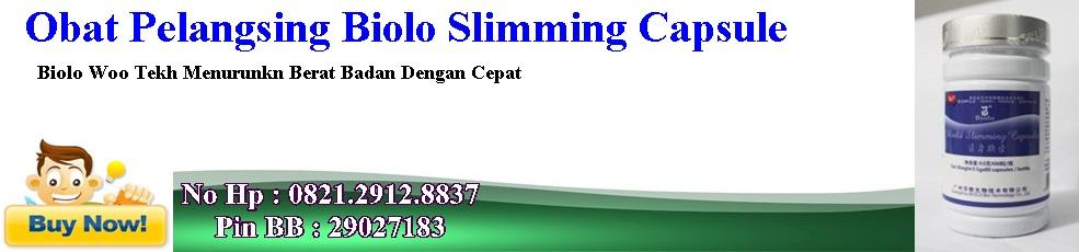 Obat Pelangsing Biolo Slimming Capsule