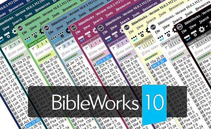<b>BibleWorks 10 Review Articles</b>