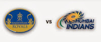 Rajasthan Royals vs Mumbai Indians T20 Live Streaming Cricket Score 1st Match In CL T20 (Champions League).