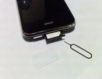 iPhone sim card remove
