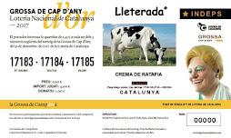 Loteria de Cap d'Any 2017 Núm. 17183 17184 17185