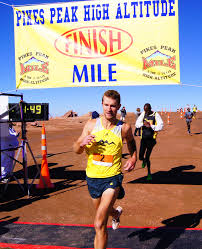 Pikes Peak Mile Champion Scott Dahlberg