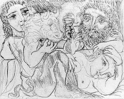 Minotauro, bebedor e mulheres