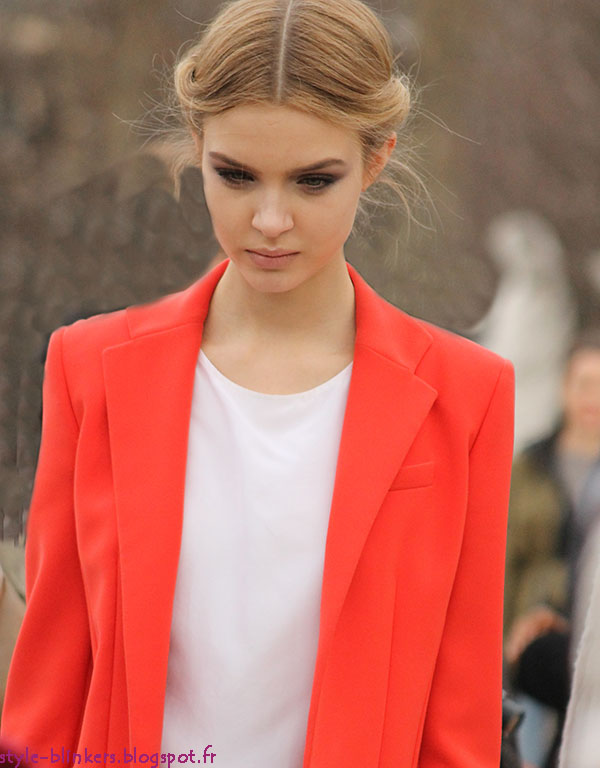 Models at the Paris Fashion Week F/W 2012-2013
