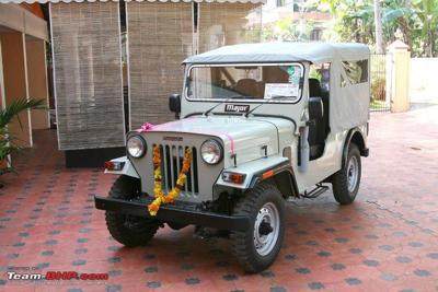 Mahindra Cj 500d My Modified Jeep History Of Mahindra