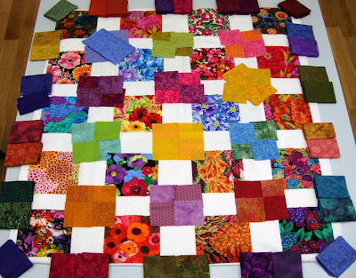 Robin Atkins, shimmer quilt, final layout