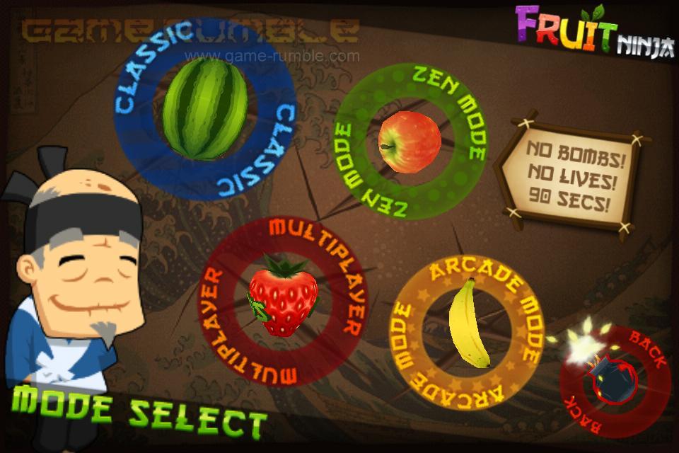 download free ninja fruit game