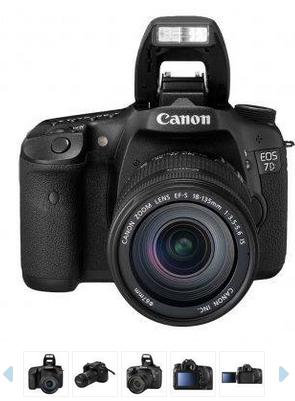 Harga dan Spesifikasi Kamera DSLR Canon EOS 7D