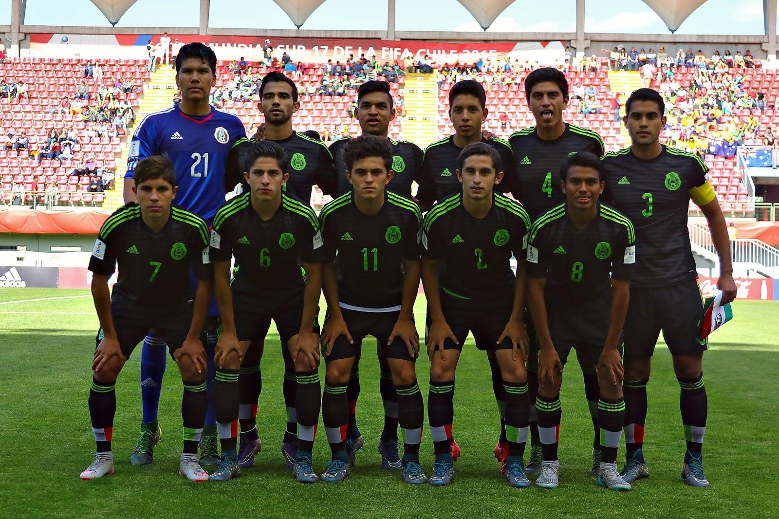 México le gana a Chile 4-1 (mundial sub 17)