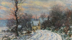 Monet, Giverny no Inverno