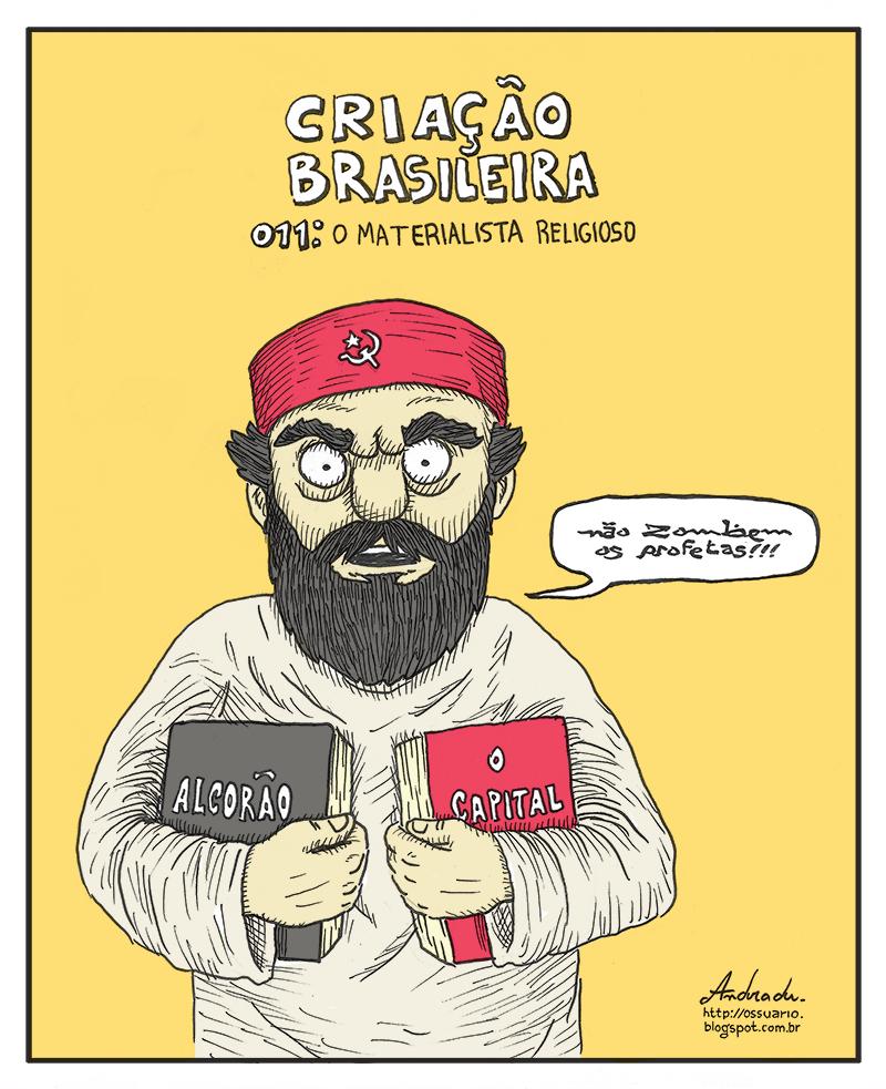 Cesar Andrade chargista freelancer