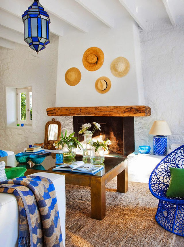 New trends for Living room in Mediterranean style