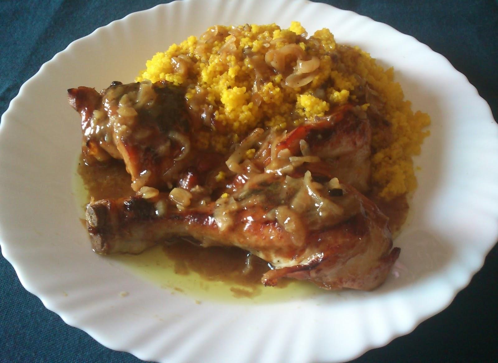 La cocina de inma mic pollo al horno con salsa de cebolla - Salsas para el pollo al horno ...