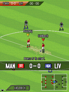 Download Real Football 2009 240 X 320 Mobile Java