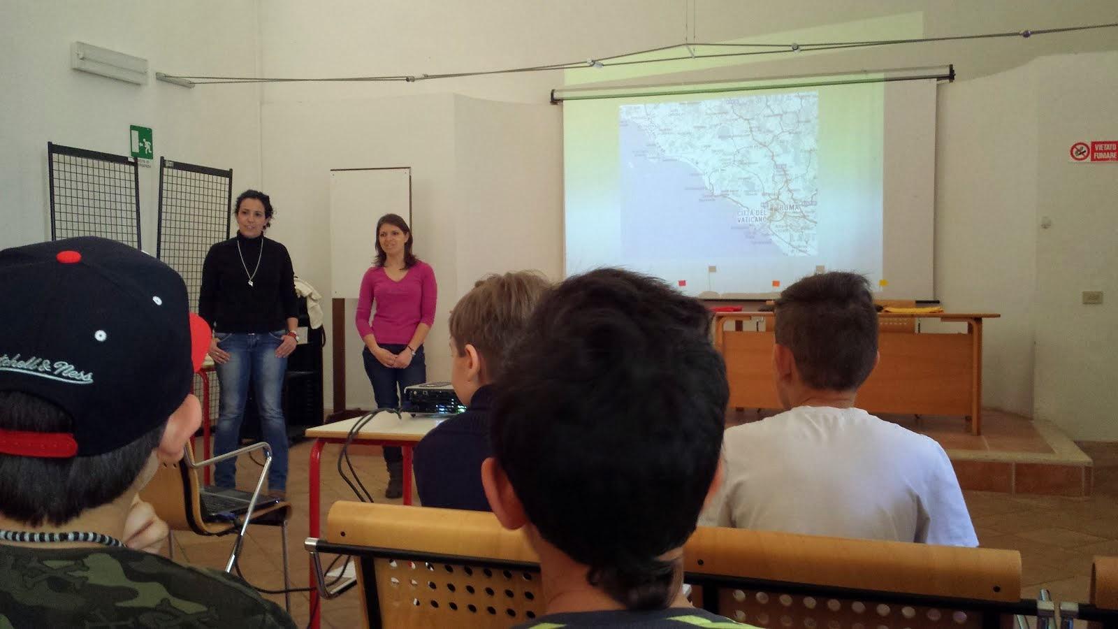 Progetto educazione alla lettura - Le strade di Roma - Alessandra Pala e Francesca Crescentini