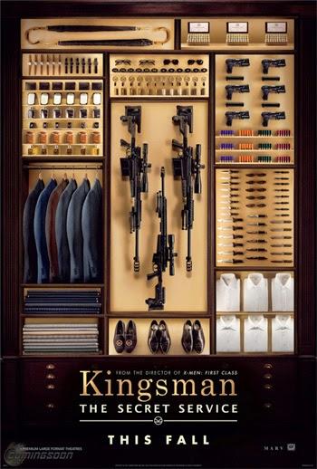 """Poster de  """"Kingsman: The Secret Service"""""""