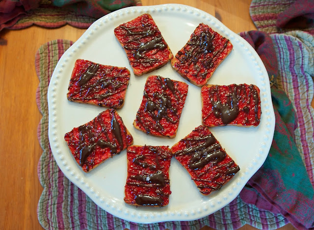 Chocolate Raspberry Appetizer: Simple Living and Eating