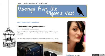 Musings From The Pigeon's Nest