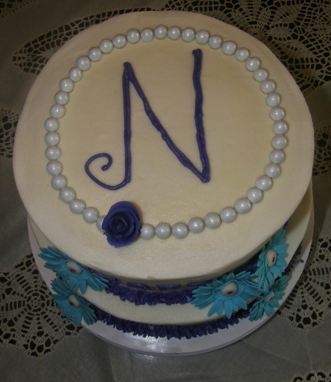 Mrs Lydia S Kitchen Purple Amp Teal Birthday Cake