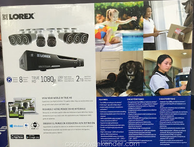Keep your family safe with the Lorex LHV828 1080p Surveillance System