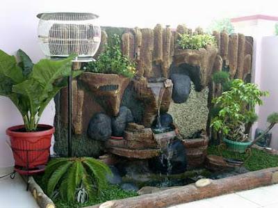 Kolam Minimalis Dalam Rumah Tinggal