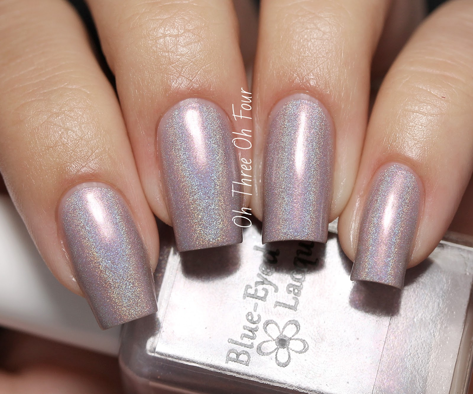 Blue-Eyed Girl Lacquer We Saved the World, I Say We Party! Swatch