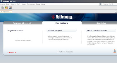 Interface do NetBeans