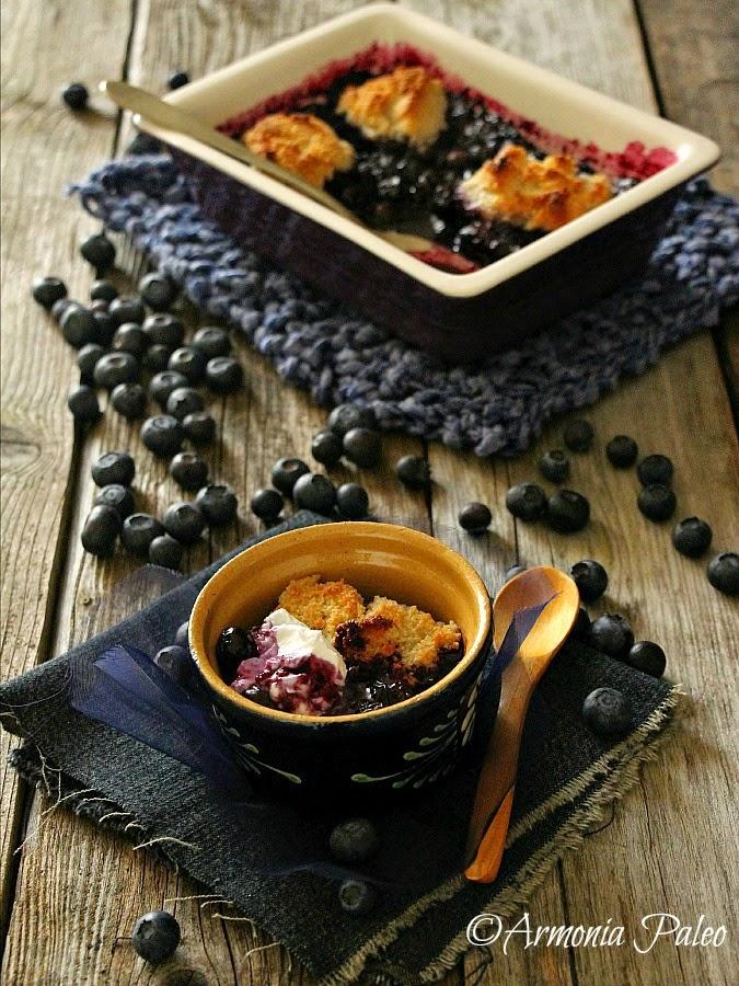 Blueberry Grunt - Dolce Canadese ai Mirtilli di Armonia Paleo