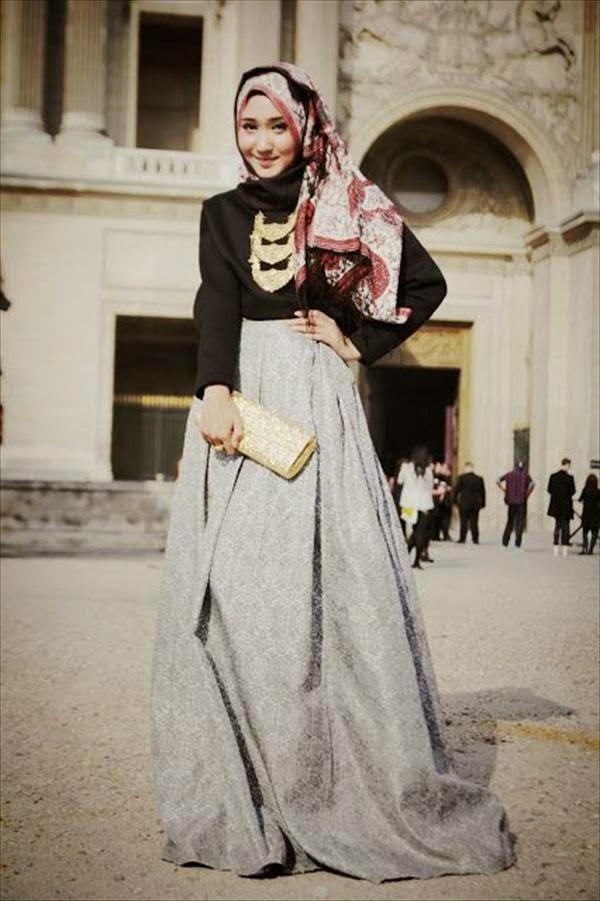 5 Langkah Gaya Hijab Yang Stylish Dan Praktis