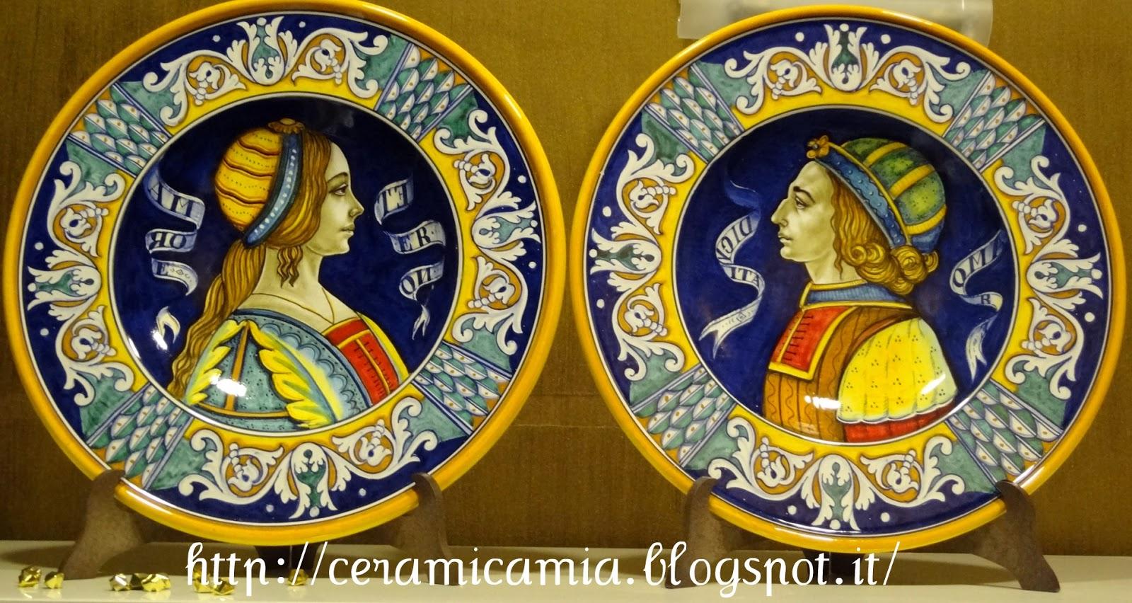 Ceramica che passione piatti decorati in mostra a roma for Piatti decorati