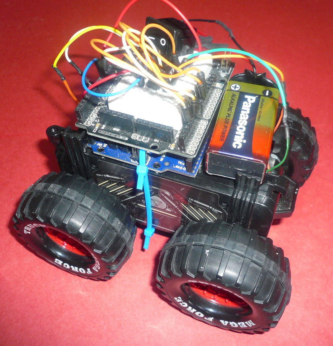 construire robot autonome